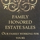 Family Honored Estate Sales Logo