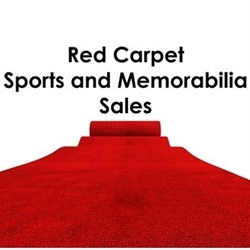 Red Carpet Sports And Memorabilia Sales Logo