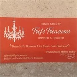 Tref's Treasures Logo