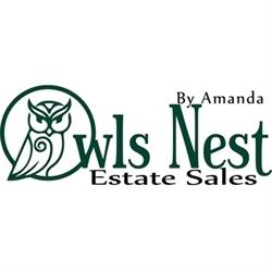 The Owls Nest Estate Sales By Amanda Logo