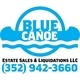 Blue Canoe Estate Sales & Liquidations Logo