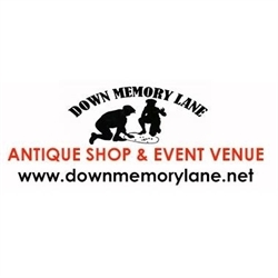 Down Memory Lanes Antiques And Collectibles Logo