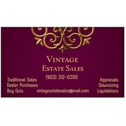 Vintage Estate Sales Logo