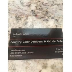 Joy And John Taglione Country Cabin Estate Sales Logo