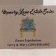 Memory Lane Estate Sales Logo