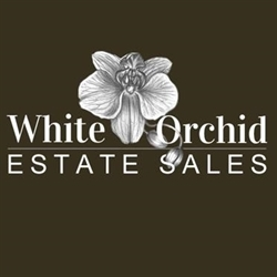 White Orchid Estate Sales Logo
