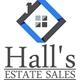 Hall's Estate Sales Logo