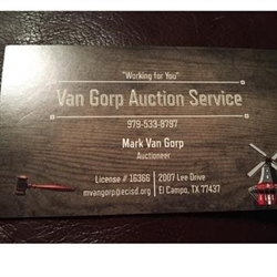 Van Gorp Auction Service Logo