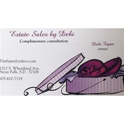 Estate Sales By Debi LLC Logo