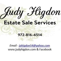 Judy Higdon Estate Sales Logo