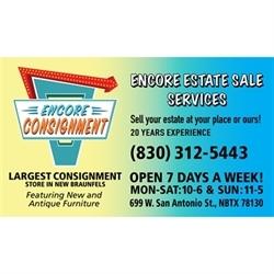 Encore Estate Sale Services Logo