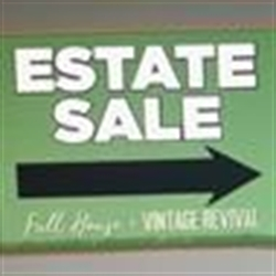 Full House - Estate Sales/ Vintage Revived Logo
