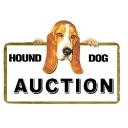 Hound Dog Auction & Realty Logo