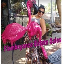 Flamboyance Estate Sales Logo