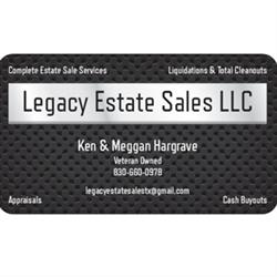 Legacy Estate Sales LLC Logo