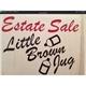 Little Brown Jug Estate Sales Logo