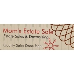 Mom's Estate Sale