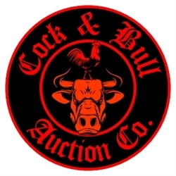 Cock & Bull Auction Co. Logo