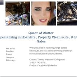 Queen Of Clutter - Specializing In Hoarders And Property Clean-outs Logo