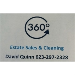 360 Estate Sales & Cleaning Logo