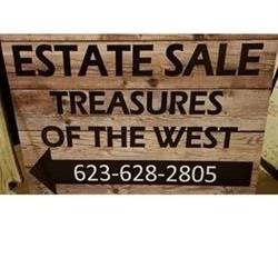 Treasures Of The West Estate Sales Logo