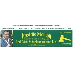 Freddie Morton Real Estate & Auction Co. Logo