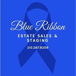 Blue Ribbon Estate Sales & Staging Logo