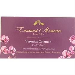 Treasured Memories Estate Sales Logo