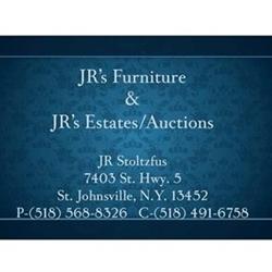 JR's Auction Logo
