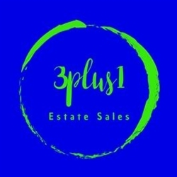 3plus1 Estate Sales Logo