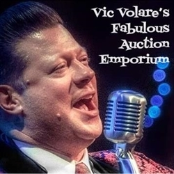 Vic Volare's Fabulous Auction Emporium Logo