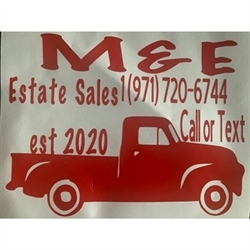 M&E Estate Sales Logo