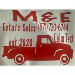 M&E Estate Sales LLC Logo