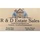 R & D Estate Sales Logo