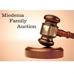 Miedema Family Auction Logo