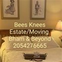 Beez Knees Birmingham Alabama Estate/moving Sales Logo