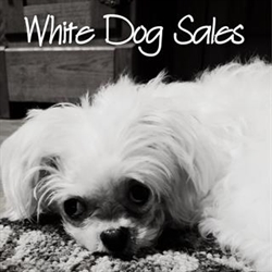 White Dog Sales Logo