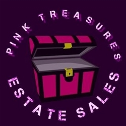 Pink Treasures Estate Sales L.l.c Logo