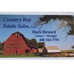 Country Boy Estate Sales LLC Logo
