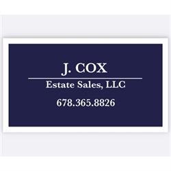 J. Cox Estate Sales, LLC Logo