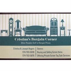Cristina's Bargain Corner & Estate Liquidaton Logo