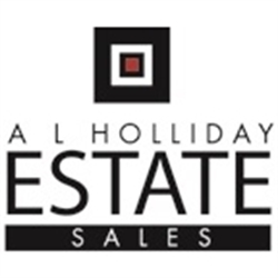 A L Holliday & Associates Estate Sale Services Logo