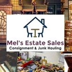 Mels's Estate Sales Logo