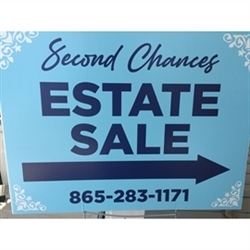 Second Chances Estate Sales Logo