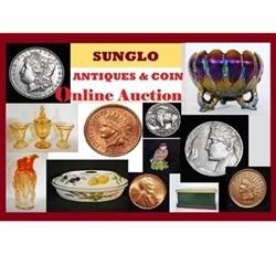 Sunglo Antiques & Coins Logo