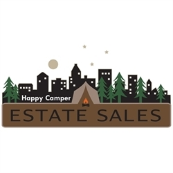 Happy Camper Estate Sales Logo