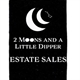 Two Moons And A Little Dipper Logo