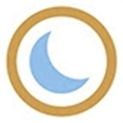 Blue Moon Estate Sales - Stone Mountain Logo