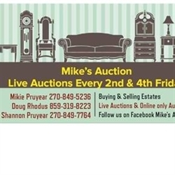 Mike's Auction Logo