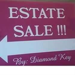 Diamond Key Estate Sale Logo